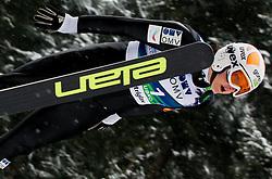 Manja Pograjc of Slovenia during Normal Hill Individual Competition at FIS World Cup Ski jumping Ladies Ljubno 2012, on February 12, 2012 in Ljubno ob Savinji, Slovenia. (Photo By Vid Ponikvar / Sportida.com)