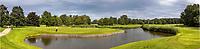 ALMERE - Golfclub GC ALMEERDERHOUT  . panorama tee hole 1 en 9 Markermeer.  . COPYRIGHT KOEN SUYK