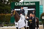 Nanna Skodborg Merrald - Millibar<br /> World Equestrian Festival, CHIO Aachen 2013<br /> © DigiShots