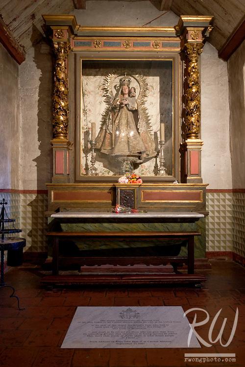 Our Lady of Bethlehem Shrine to Pope John Paul II, Carmel Mission, California