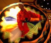 Whirling Dervish dancer..Luxor, Egypt
