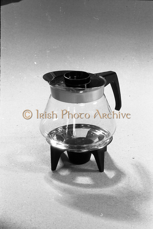 20-25/05/1966<br /> 05/20-25/1966<br /> 20-25 May 1966<br /> Competition prizes photographed at Lensmen Studio for Esso (Ireland) Ltd. A coffee pot.