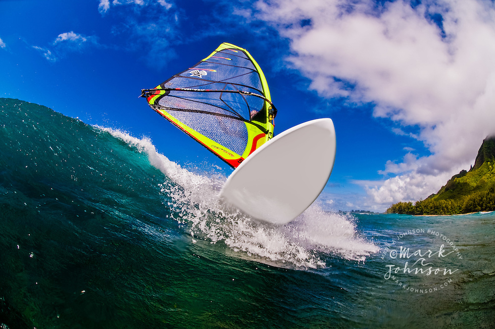 Windsurfer on Wave