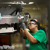 Bob Farley/F8Photo.org --The Mercedes-Benz C-Class on the assembly line Wednesday June 18, 2014.