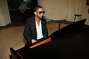 Ryan Leslie performs at The Pre-Reception for The 100th NAACP Annual Conference hosted by Governor David Patterson w/special performance by Ryan Leslie held at the Great Hall at City College of New York in New York City on July 12, 2009