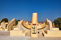 Inde, Rajasthan, Jaipur la ville rose, Observatoir Astronomique (Jantar Mantar) // India, rajasthan, Jaipur the Pink City, Oservatory (jantar Mantar)