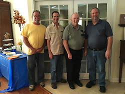 06 August 2016:   David Look turns 80 years old.  Family joins in the celebration at the clubhouse on Bond Circle in Naperville Illinois<br /> <br /> Taken by Lelanny.<br /> <br /> Roger, Alan, Dave & Dale