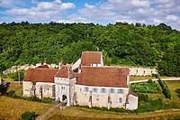 France, Indre-et-Loire (37), Chemillé-sur-Indrois, la Corroirie du Liget, vue aérienne // France, Indre-et-Loire (37), Chemillé-sur-Indrois, la Corroirie du Liget, aerial view