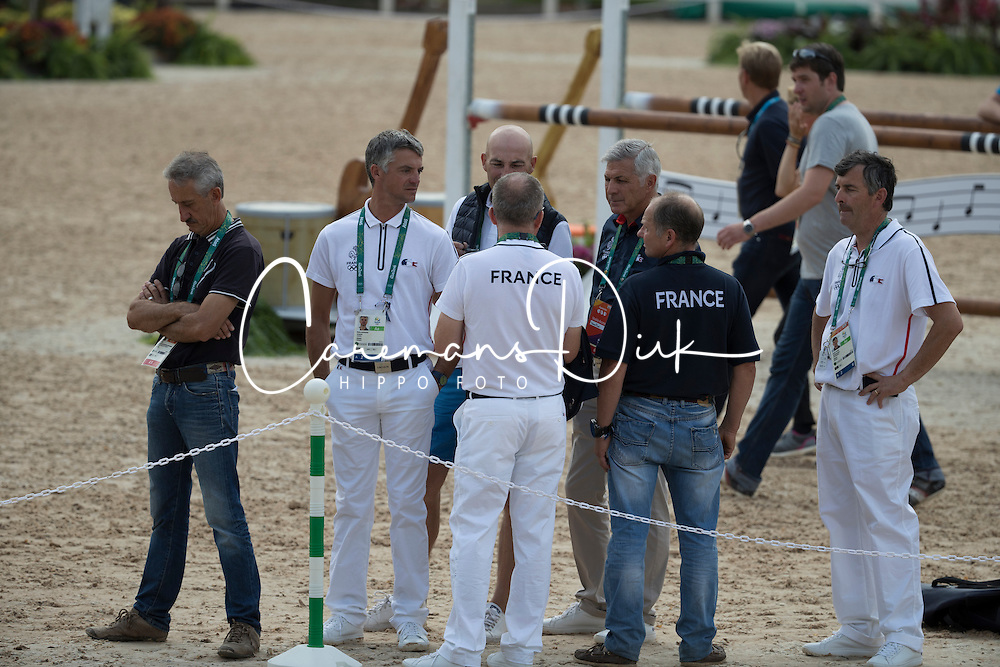 Team France<br /> Final Horse inspection Eventing<br /> Olympic Games Rio 2016<br /> © Hippo Foto - Dirk Caremans<br /> 09/08/16