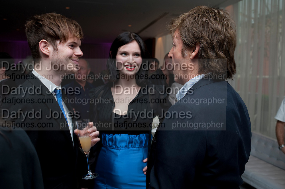RICHARD JONES; SOPHIE ELLIS-BEXTOR; SIR PAUL MCCARTNEY, Told, The Art of Story by Simon Aboud. Published by Booth-Clibborn editions. Book launch party, <br /> St Martins Lane Hotel, 45 St Martins Lane, London WC2. 8 June 2009