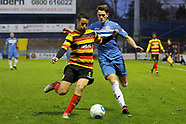 Stockport County FC 1-2 Bradford Park Avenue 19.11.16