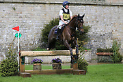 Tom McEwen riding Braveheart B during the International Horse Trials at Chatsworth, Bakewell, United Kingdom on 12 May 2018. Picture by George Franks.