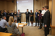 Ohio Business Week students give presentations on Friday, July 21, 2017. Photo by Kaitlin Owens