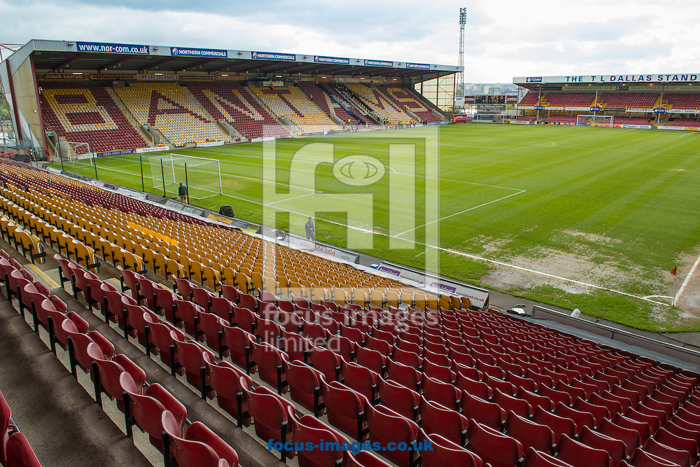 A general view of the Coral Windows Stadium, Bradford prior to the Sky Bet League 1 Playoff  Semi-final Leg One between Bradford City and Millwall<br /> Picture by Matt Wilkinson/Focus Images Ltd 07814 960751<br /> 15/05/2016