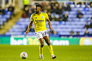 Birmingham City midfielder Jacques Maghoma (19) during the EFL Sky Bet Championship match between Reading and Birmingham City at the Madejski Stadium, Reading, England on 7 December 2019.