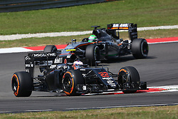Jenson Button (GBR) McLaren MP4-31.<br /> 02.10.2016. Formula 1 World Championship, Rd 16, Malaysian Grand Prix, Sepang, Malaysia, Sunday.<br /> Copyright: Photo4 / XPB Images / action press