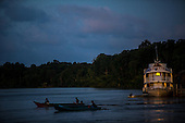 Brazil, Amazon Court Boat