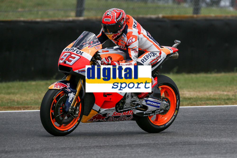Marc Marquez of Spain and Repsol Honda Team during the MotoGP Italy Grand Prix 2017 at Autodromo del Mugello, Florence, Italy on 4th June 2017. Photo by Danilo D'Auria.<br /> <br /> Danilo D'Auria/UK Sports Pics Ltd/Alterphotos