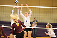 WVB: University of St. Thomas (Minnesota) vs. Concordia College, Moorhead (11-01-16)