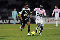 Jordan AYEW  - 04.03.2015 -   Evian Thonon / Lorient - Match en retard de la 26eme journee de Ligue 1 <br />Photo : Jean Paul Thomas / Icon Sport