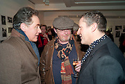 PETER YORK; DAVID LITCHFIELD; NICK ASHLEY, The Way We Wore.- Photographs of parties in the 70's by Nick Ashley. Sladmore Contemporary. Bruton Place. London. 13 January 2010. *** Local Caption *** -DO NOT ARCHIVE-© Copyright Photograph by Dafydd Jones. 248 Clapham Rd. London SW9 0PZ. Tel 0207 820 0771. www.dafjones.com.<br /> PETER YORK; DAVID LITCHFIELD; NICK ASHLEY, The Way We Wore.- Photographs of parties in the 70's by Nick Ashley. Sladmore Contemporary. Bruton Place. London. 13 January 2010.