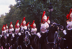 Royal Guards On Horseback, London