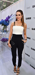 Maria Hatzistefanis at the Glamour Women of The Year Awards 2017 in association with Next held in Berkeley Square Gardens, London England. 6 June 2017.