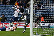 Goal scored by Alan Browne of Preston North End  during the EFL Sky Bet Championship match between Preston North End and Huddersfield Town at Deepdale, Preston, England on 9 November 2019.