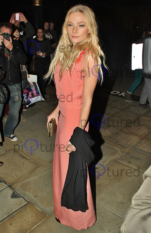 LONDON - November 10: Clara Paget at the Peace Earth Foundation Fundraising Gala (Photo by Brett D. Cove)