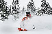 Canadian Mountain Holidays (CMH) Nomads private heliski tour 2020, Rob Kinsley