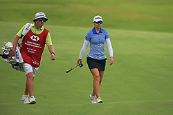 SINGAPORE, March 1, 2019  Jodi Ewart Shadoff (R) of England competes on the second day of the HSBC Women's World Championship held at Singapore's Sentosa Golf Club on March 1, 2019. (Credit Image: © Then Chih Wey/Xinhua via ZUMA Wire)