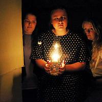 Lauren Wood | Buy at photos.djournal.com<br /> Tupelo High School's Absolutely Murder.