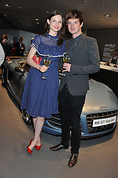 SOPHIE ELLIS-BEXTOR and RICHARD JONES at the Global Launch of Audi's first Digital Showroom, 74-75 Piccadilly, London on 16th July 2012.