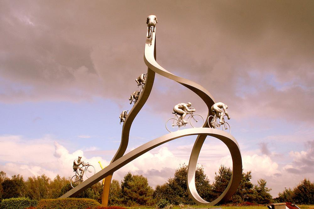 &quot;Le Tour de France dans les Pyr&eacute;n&eacute;es&quot; by Jean-Bernard M&eacute;tais<br /> Tarbes, France
