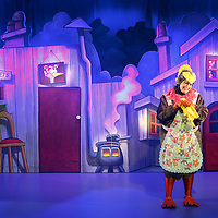 Picture shows : Auntie Janet Saves The Planet .Scottish Opera production - Opera for under 6s.Written by Mark Robertson, Music by Karen MacIver ..Auntie Janet Saves The Planet is a magical, musical tale that takes you into the woodland world of Auntie Janet and her forest friends. The characters they meet along the way include some of Scotland's endangered species and Auntie Janet and the audience must help them to save their homes...Auntie Janet is touring Scotland in May and June 2009. There are still tickets available for performances in Aberdeen and Edinburgh.. .Children take on the role of water voles and journey with the Brown Hare, the Song Thrush and the Pipistrelle Bat through the forest to find the answers that await them amidst the thrills and excitement of the Bumbling Brothers' Circus!. .Auntie Janet is an interactive opera especially created for 3 to 6 year olds featuring live performance, film animation and puppetry. A perfect blend of music, songs, laughter and high adventure that will appeal to young children and their parents..Picture © Drew Farrell    Tel :  07721-735041.If you require any more information please contact Kerryn Hurley Press, Scottish Opera Tel : 0141 248 4567..Note to Editors:  This image is free to be used editorially in the promotion of Scottish Opera. Without prejudice ALL other licences without prior consent will be deemed a breach of copyright under the 1988. Copyright Design and Patents Act  and will be subject to payment or legal action, where appropriate......