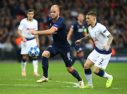 November 6, 2018 - London, England, United Kingdom - London, England - November 06, 2018.Jorrit Hendrix of PSV Eindhoven (Blue).during Champion League Group B between Tottenham Hotspur and PSV Eindhoven at Wembley stadium , London, England on 06 Nov 2018. (Credit Image: © Action Foto Sport/NurPhoto via ZUMA Press)