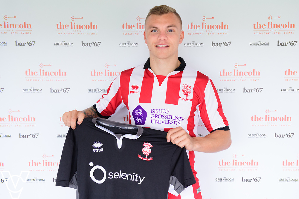 Lincoln City have signed Harry Anderson from Peterborough United on a permanent contract.<br /> <br /> Picture: Chris Vaughan Photography<br /> Date: July 20, 2017
