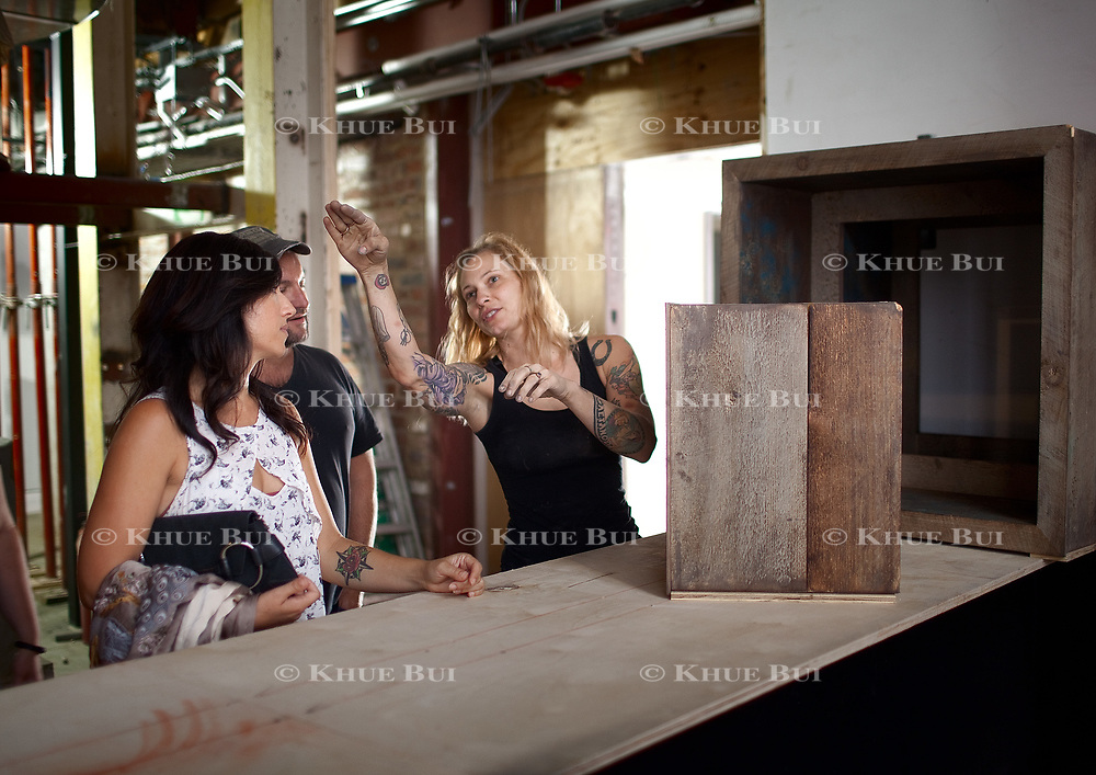 Rose Private walks through the construction of her new restaurant, Maydan DC, Saturday, September 30, 2017 in Washington, DC.<br /> <br /> Photo by Khue Bui