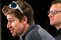 Peter Sagan (L) with Luke Roberts at  Media Conference for the Tour Down Under, Australia on the 13 of January 2018 ( Credit Image: © Gary Francis / ZUMA WIRE SERVICE )