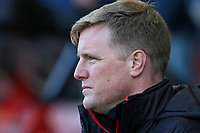 Football - 2016 / 2017 Premier League - AFC Bournemouth vs. Liverpool<br /> <br /> Bournemouth's Manager Eddie Howe at Dean Court (The Vitality Stadium) Bournemouth<br /> <br /> COLORSPORT/SHAUN BOGGUST
