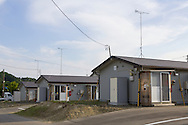 Temporary housing in Iwaki City for people who has been evacuated from the area closest to the Daichi Nuclear Plant in Fukushima Prefecture, Japan<br />