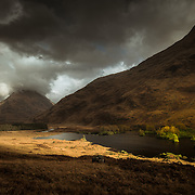 Lochan Urr, Glen Etive, Scotland.