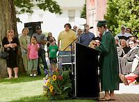 New Hampton School Graduation Ceremony May 28, 2010.