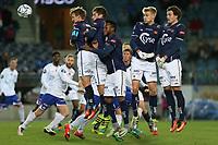 Fotball , 06. november 2016 , Eliteserien , Tippeligaen , Viking - Vålerenga<br />Viking i aksjon mot Vålerenga.<br />Foto: Andrew Halseid Budd , Digitalsport