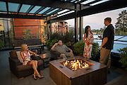 Couples enjoying the facilities at the Allison Inn & Spa, Willamette Valley, Oregon
