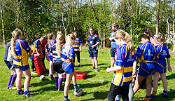 Bristol Rugby Super Sunday coaching session ahead of the Play-off Semi-Final - Mandatory by-line: Paul Knight/JMP - 09/04/2017 - RUGBY - Cleve RFC - Bristol, England - Bristol Ladies v Saracens Women - RFU Women's Premiership Play-off Semi-Final