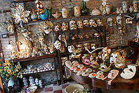 July 2004, Venice, Italy --- Mask and Antique Shop at Campo San Giovanni e Paolo, Venice --- Image by © Owen Franken/Corbis