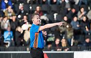 AMSTELVEEN - Scheidsrechter Coen van Bunge tijdens de hoofdklasse hockeywedstrijd AMSTERDAM-ORANJE ROOD (4-5).  COPYRIGHT KOEN SUYK