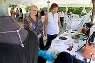 Montgomery, New York - The Friends of the Montgomery Library annual tea, which featured a Downton Abbey-themed fashion show, was held at Winding Hills Golf Club on Sunday, June 8, 2014.