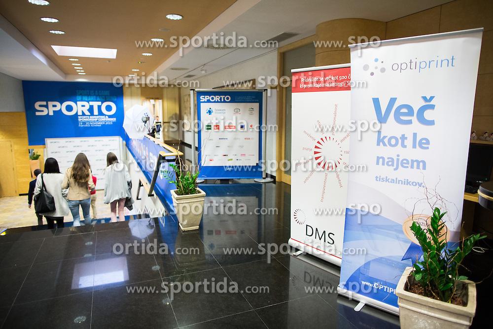 Optiprint, DMS, Sporto at Sports marketing and sponsorship conference Sporto 2015, on November 19, 2015 in Hotel Slovenija, Congress centre, Portoroz / Portorose, Slovenia. Photo by Vid Ponikvar / Sportida